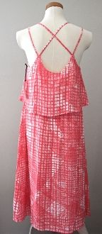Bright Spring Pacific Coral Dress
