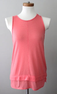 warm spring BANANA REPUBLIC coral tank top