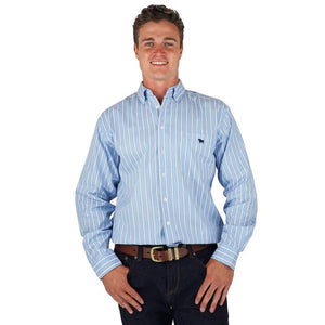 Ringers Western Simpson Mens Single Pocket Relaxed Fit Shirt