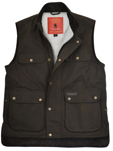 Thomas Cook High Country Oilskin Vest