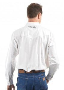 Wrangler Rodeo Long Sleeve Drill Shirt