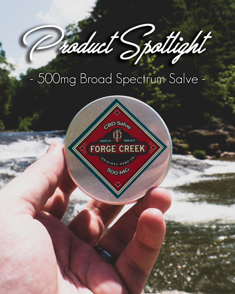 Product Spotlight: 500mg Broad Spectrum CBD Salve