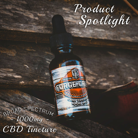Product Spotlight: 1000 mg Broad Spectrum CBD Salve. Forge Creek Original Hemp Co.