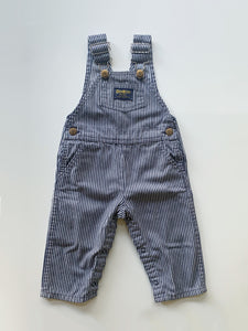 OshKosh B'Gosh Striped Overalls 18m
