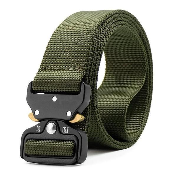 Military Style Tactical Nylon Belt - Artspace