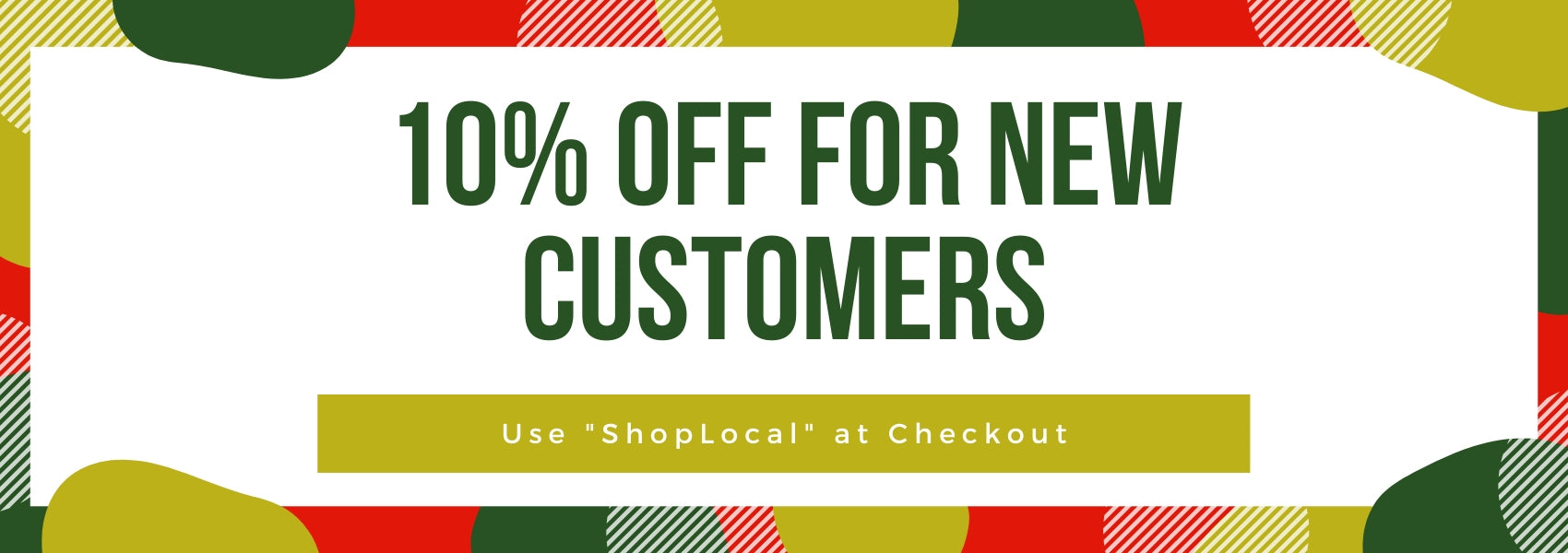 10% off new customers
