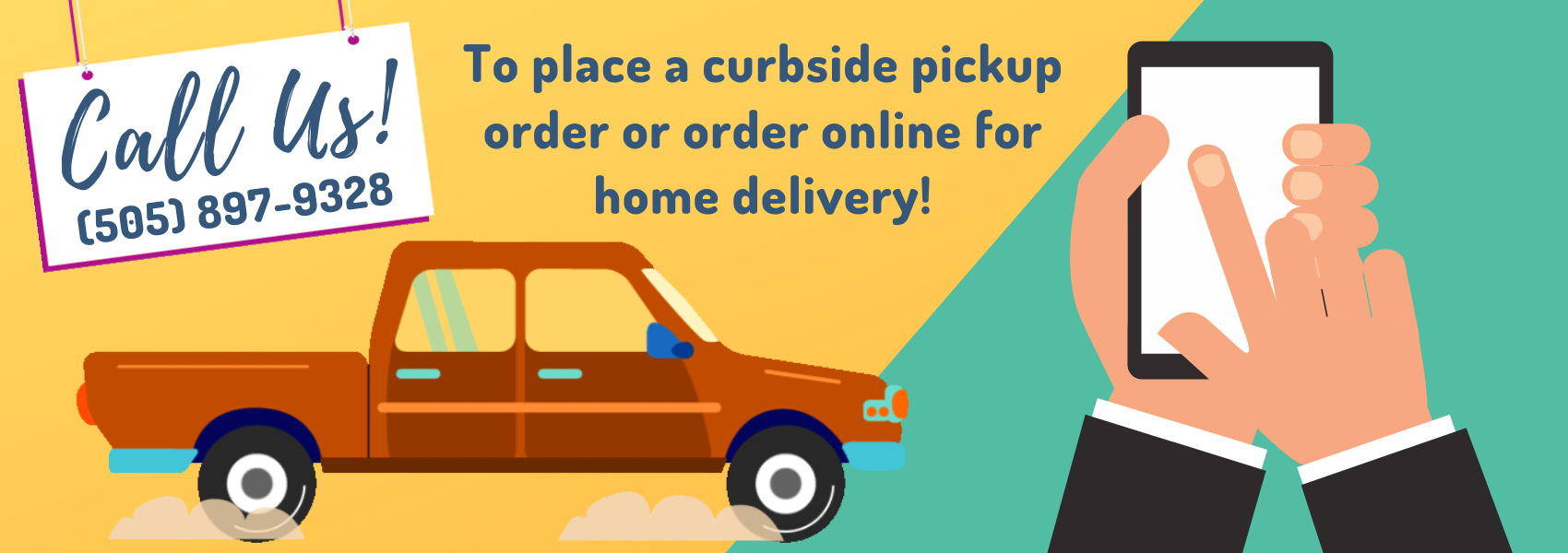 Home Delivery and Pickup