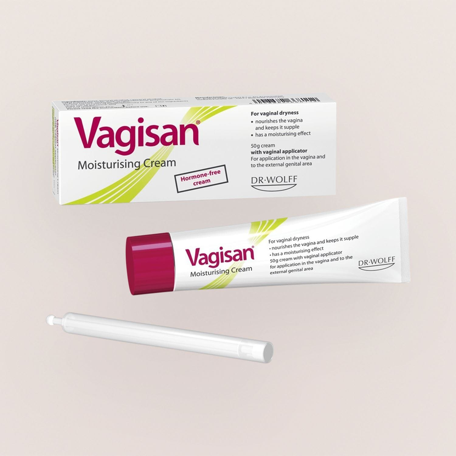 Vagisan Moist Cream 50g