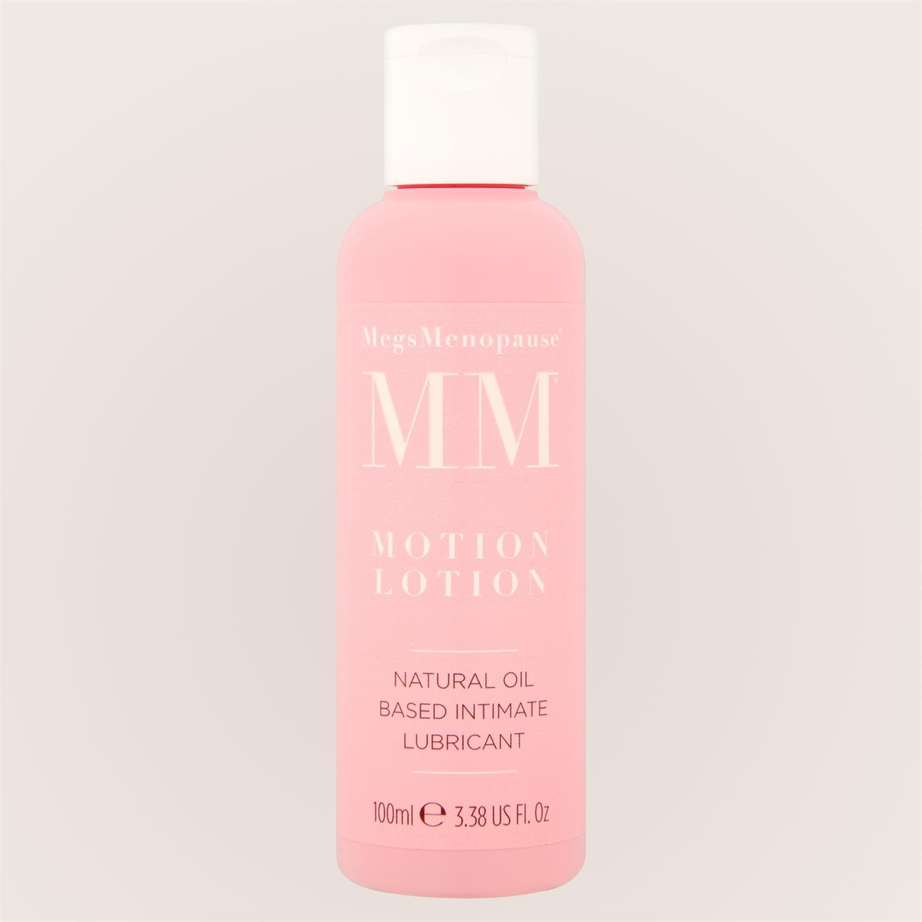 MegsMenopause Motion Lotion Natural Oil Based Intimate Lube 100ml