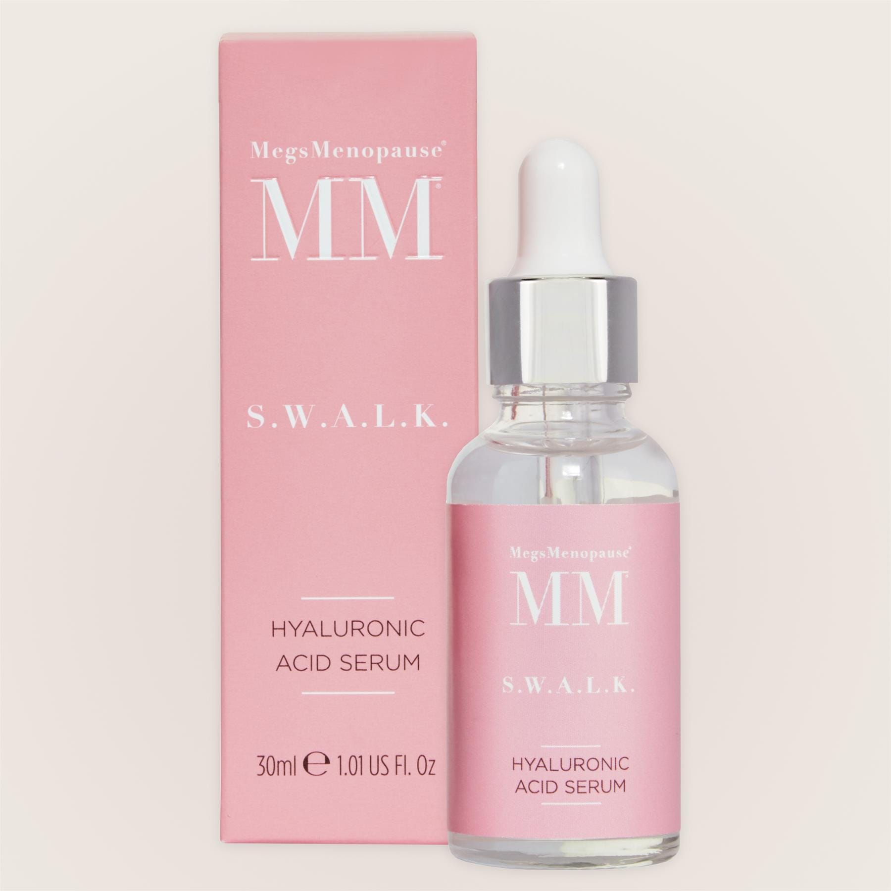 MegsMenopause S.W.A.L.K Hyaluronic Acid Serum 30ml