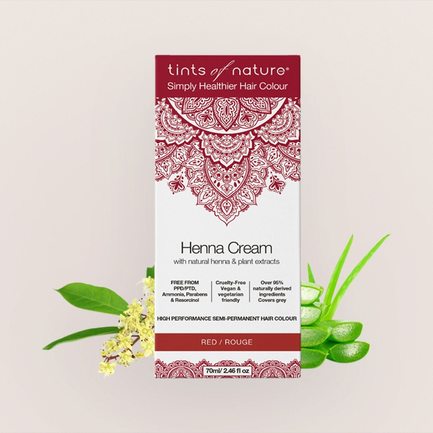 Tints of Nature Semi Permanent Henna Hair Dye