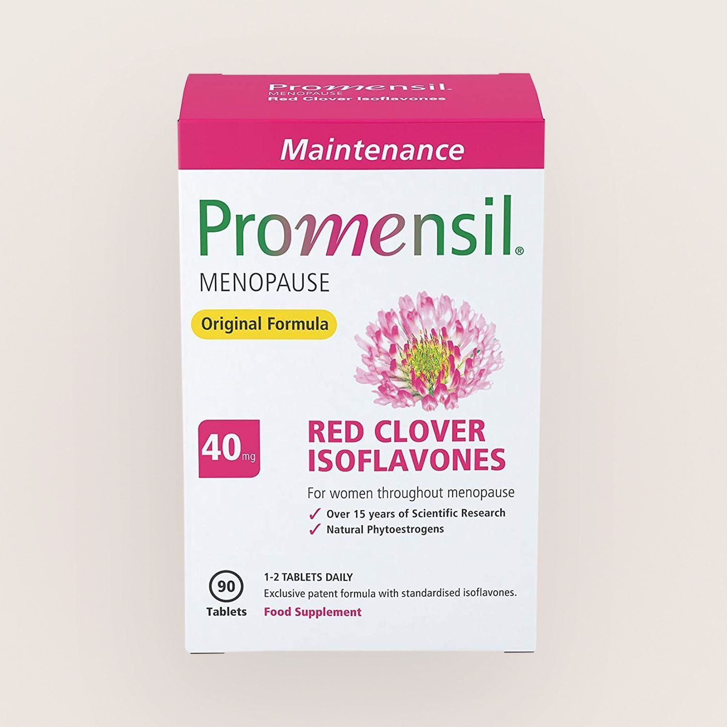 Promensil Original Menopause Tablets 40mg