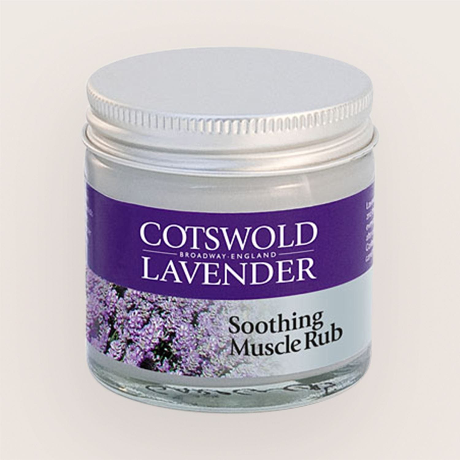 Cotswold Lavender Soothing Muscle Rub 60g