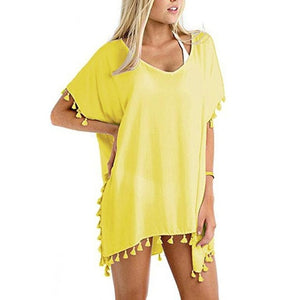 Loose Chiffon Swimwear Cover-up