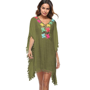 Tassel Loose Bikini Cover-up