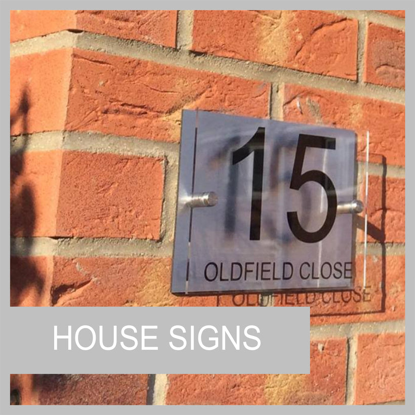 House Plaques & Signs