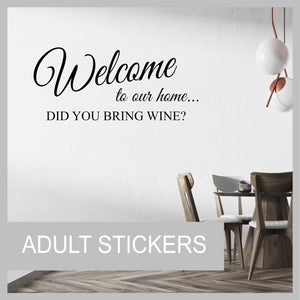 Adult Wall Stickers