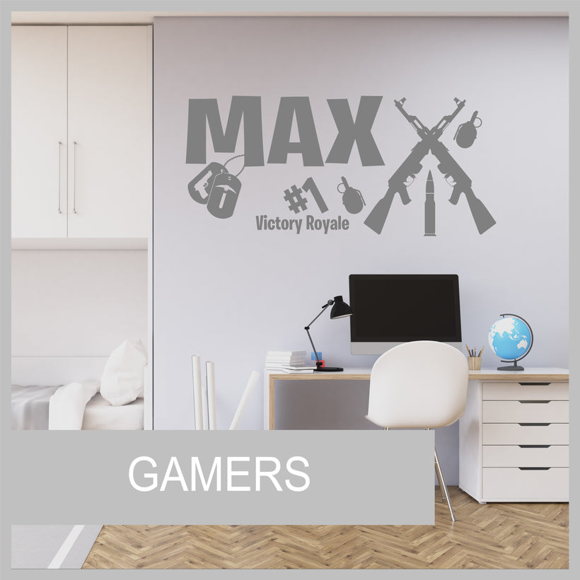 Gamer Wall Stickers