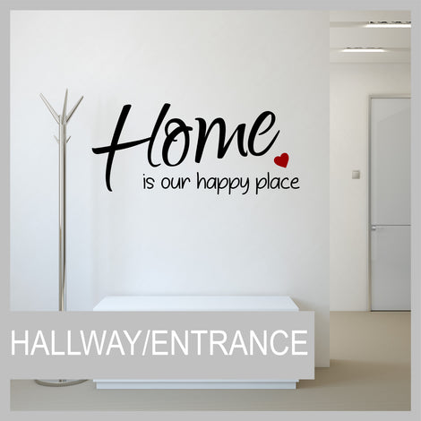 Hallway/Entrance Wall Stickers