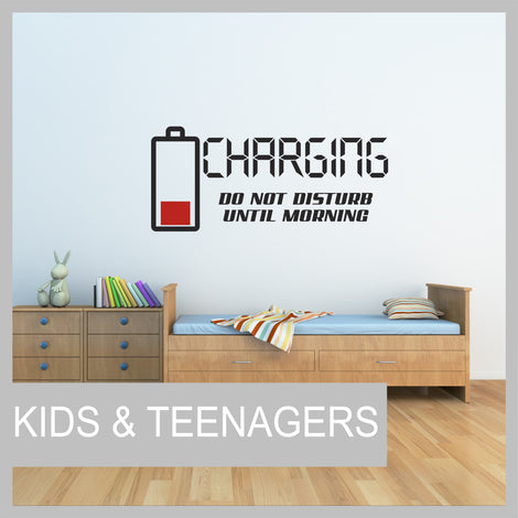 Kids & Teenagers Wall Stickers