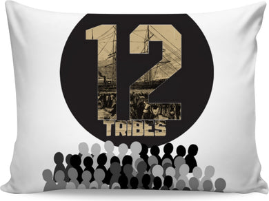 12 Tribes Pillow - Judah Fashions