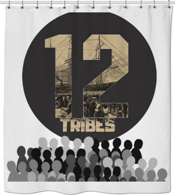 12Tribes Shower Curtain - Judah Fashions