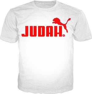 Red Judah Tshirt - Judah Fashions