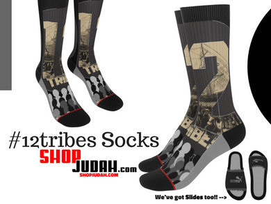JF Signature 12tribes Crew Socks - Judah Fashions
