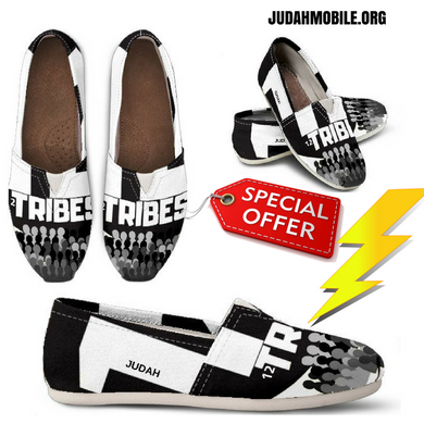 12TRIBES SLIP-ON'S - Judah Fashions