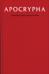 Apocrypha, King James Version Hardcover