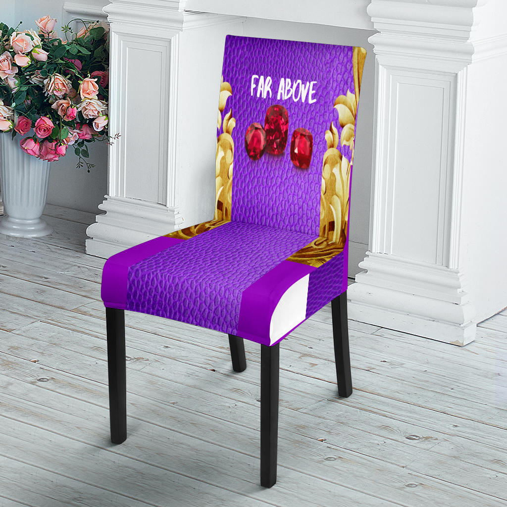 JF Dining Chair Slip Cover (Rubies Edition)