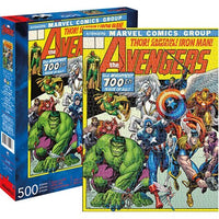 Aquarius Avengers Cover 500-Piece Puzzle