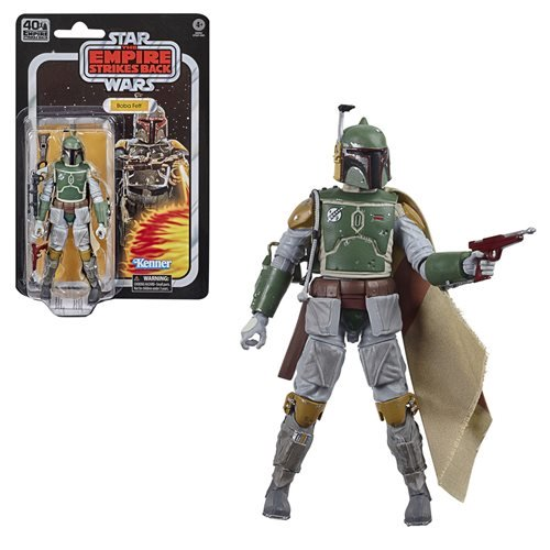Star Wars The Black Series Empire Strikes Back 40th Anniversary 6-Inch Boba Fett Action. Pre-Order Nov/Dec 2020 Figure.