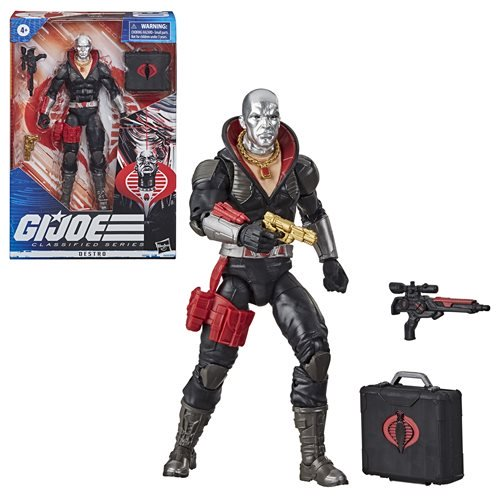 G.I. Joe Classified Series 6-Inch Action Figures Wave 1. Pre-Order Jul-2020. Subject to change.
