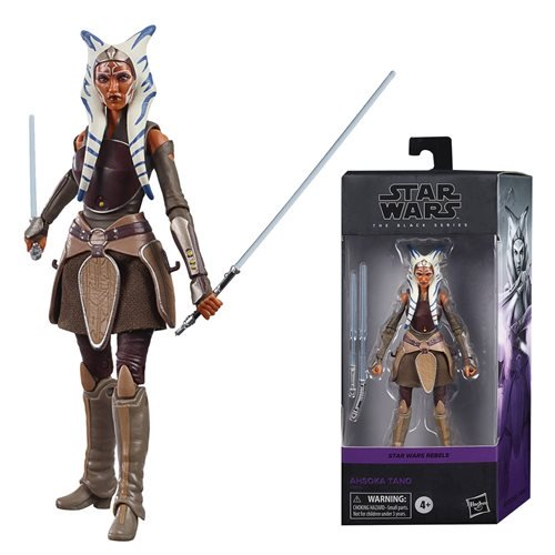 Star Wars The Black Series Ahsoka Tano 6-Inch Action Figure. Pre-Order Nov/Dec 2020.