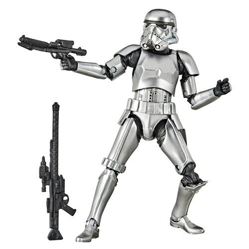 Star Wars Black Series Carbonized Stormtrooper 6-Inch Figure. Pre-Order Jun/Jul-2020.