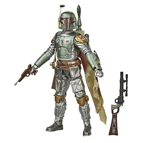 Star Wars Black Series Carbonized Boba Fett 6-Inch Figure. Pre-Order Jun/Jul 2020.