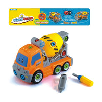 Take Apart DIY Construction Truck toy