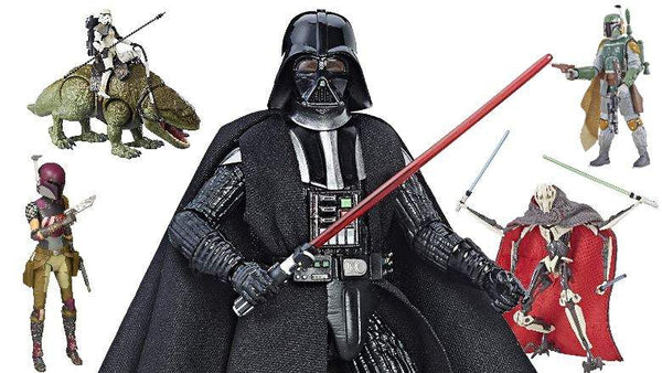 Black Series figures