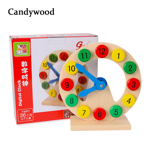 Wooden Clock toy