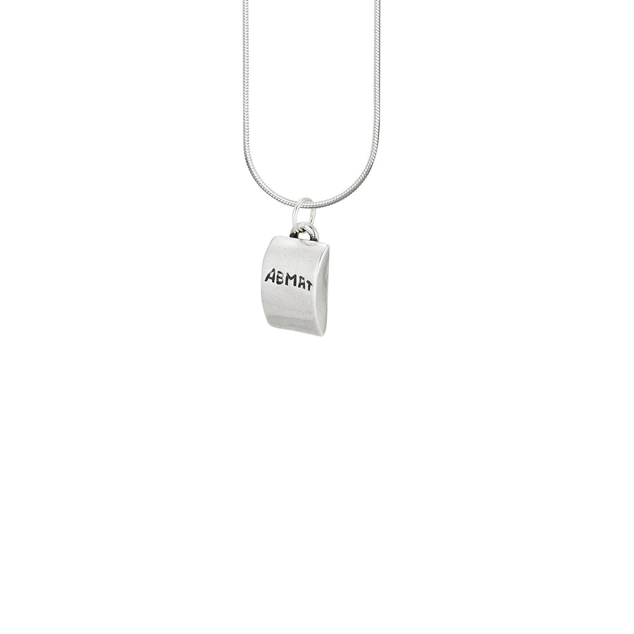 Image of Abmat Crossfit Necklace Pendant