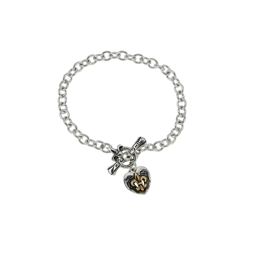 Saints & Angels Small Bronze Bracelet