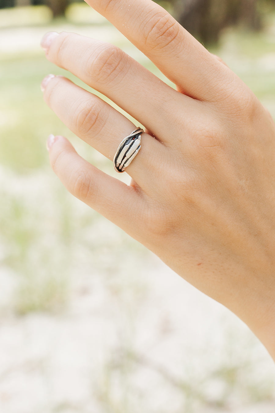 Cattails Narrow Ring