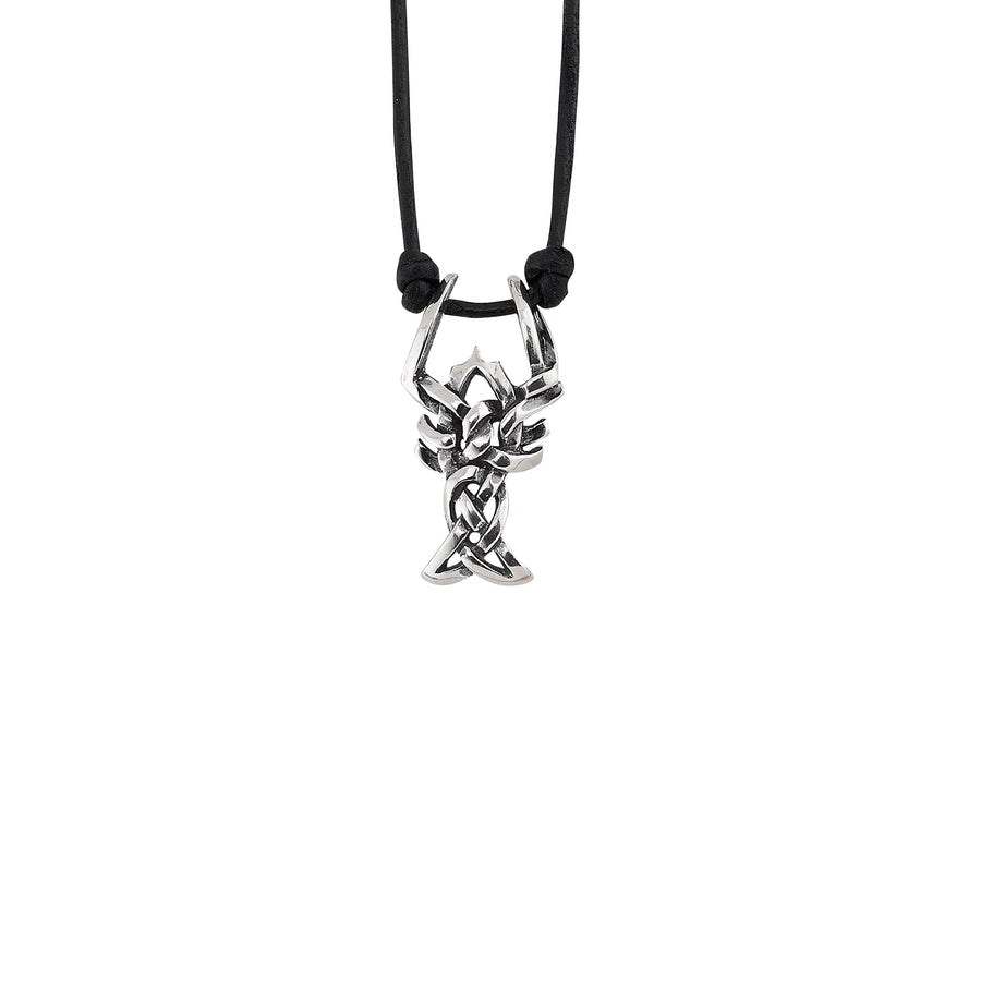 Image of Celtic Crawfish Pendant Necklace