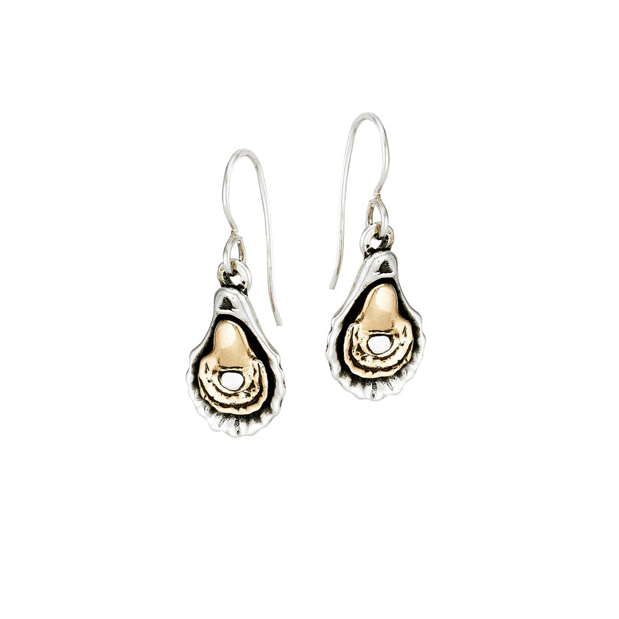 Image of Charbroiled Oyster Earrings