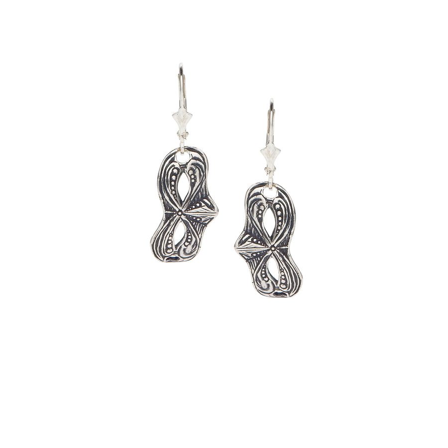 Mask Scroll Earrings