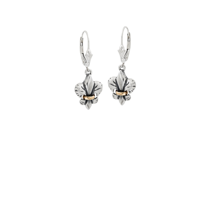 Tiger Lily X-Small 2-tone Earrings