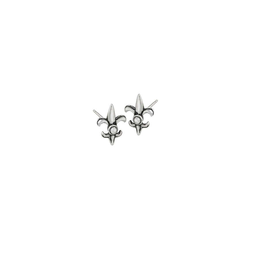 Fleur de Lis Mini Post Earrings
