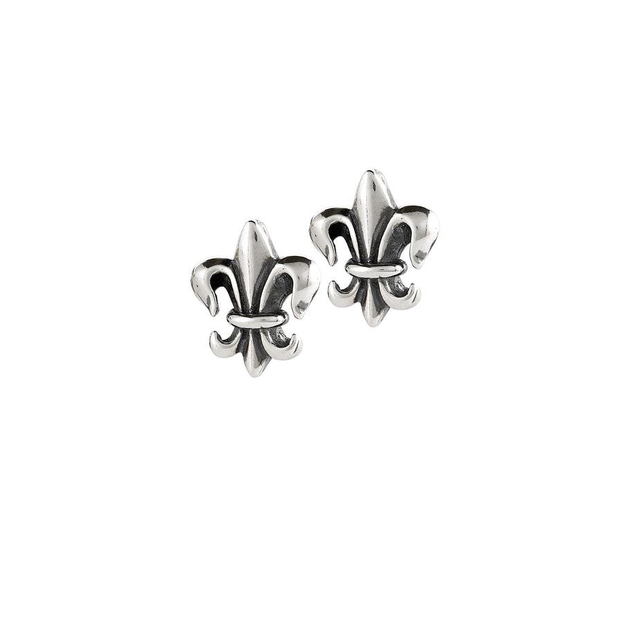 Fleur De Lean Post Earrings