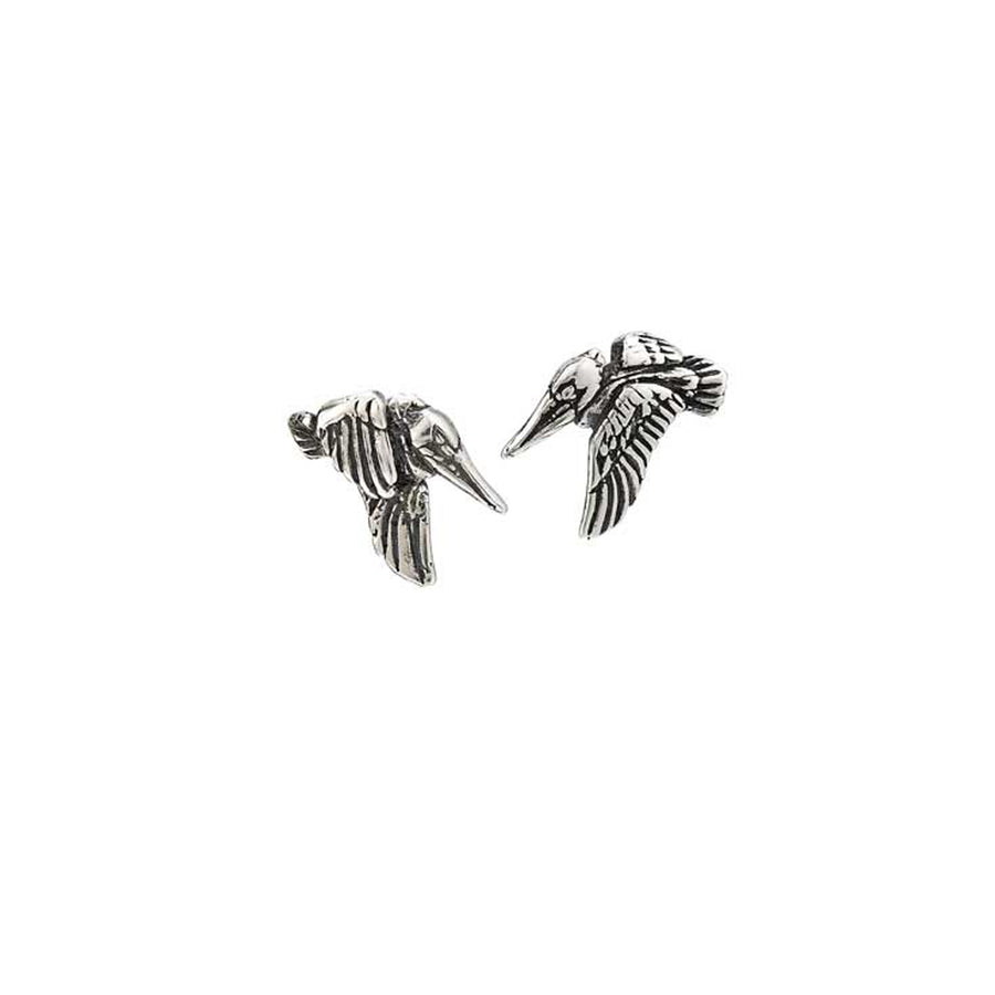 Pelican in Flight Post Earrings